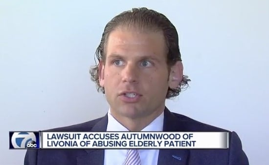 Family sues Livonia nursing home over elder abuse that was caught on camera