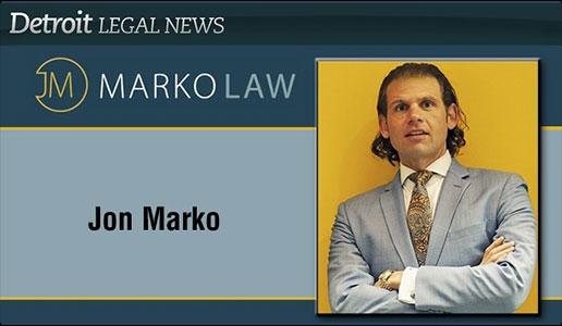 MAJ Pacesetter Jon Marko, Marko Law, PLLC